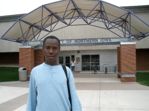 Abubakar now attends the University of Northern Iowa in Cedar Falls