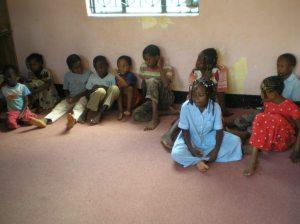 Children of Kitaa Hope Home in Moshi