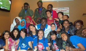 IRIS' group of Kennedy-Lugar Youth Exchange and Study(KL-YES) students for the 2012-2013 school year.