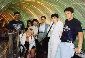 Tabatadzi (right) in 1994